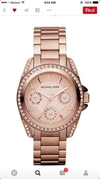 jewels michael kors watch rose gold