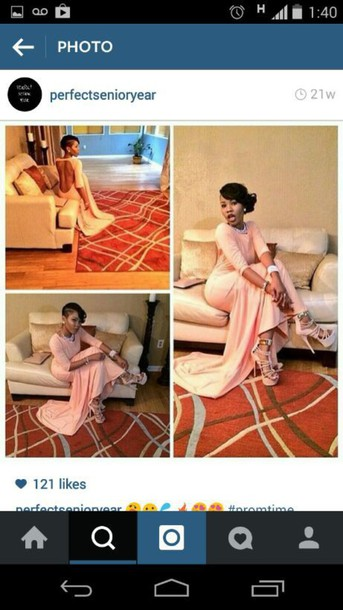 dress heels prom dress diamonds pink dress