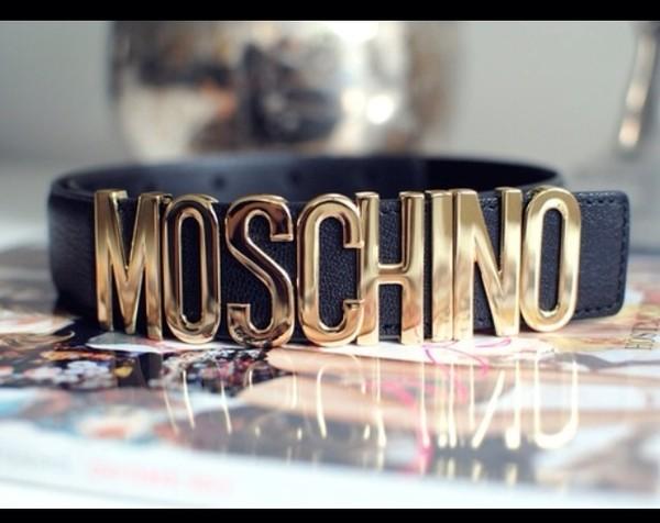 belt moshino