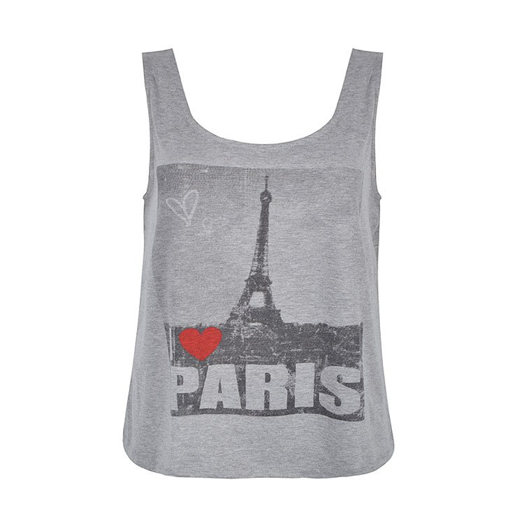 PARIS WITH LOVE TANK - Ally Fashion