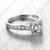 Replica Cartier Diamond Engagement Ring, Cartier White Gold Engagement Ring White Gold