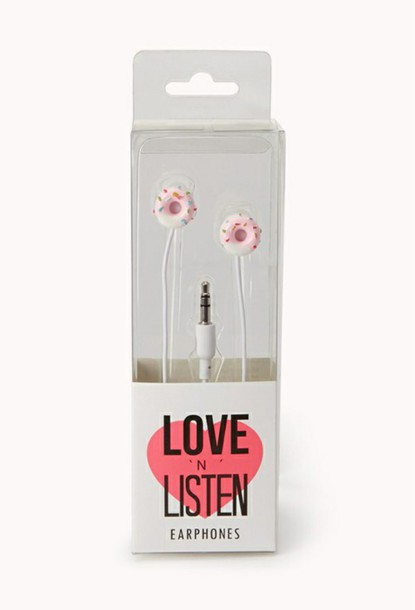 earphones donut winter swag valentines day gift idea easter