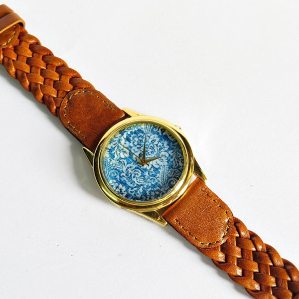 jewels denim floral watch freeforme