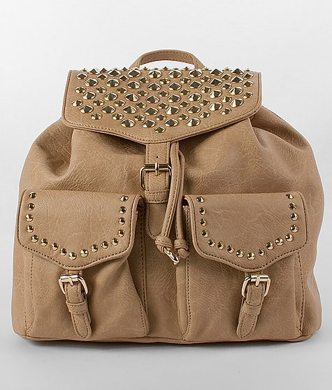 Luxcessories Studded Backpack on Wanelo