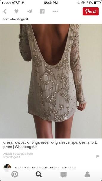 dress long sleeve short formal