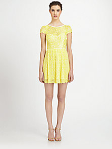 ABS - Lace Dress - Saks Fifth Avenue Mobile