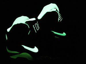 Nike Air Force 180 Mid HOH Halloween Pack 537330 001 Glow in The Dark Exclusive | eBay