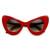 Retro Mod Super Trendy Womens Fashion Cat Eye Sunglasses 9233                           | zeroUV