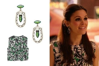 top rachel bilson earrings jewels