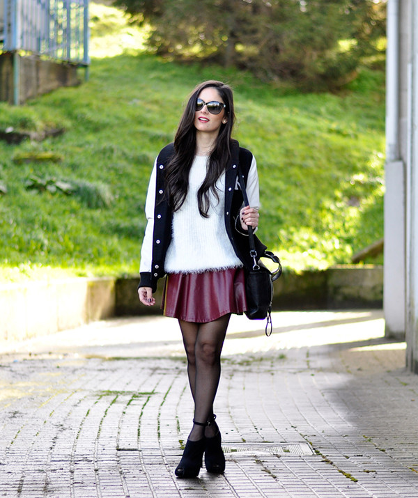 petit and sweet couture jacket sweater bag shoes sunglasses