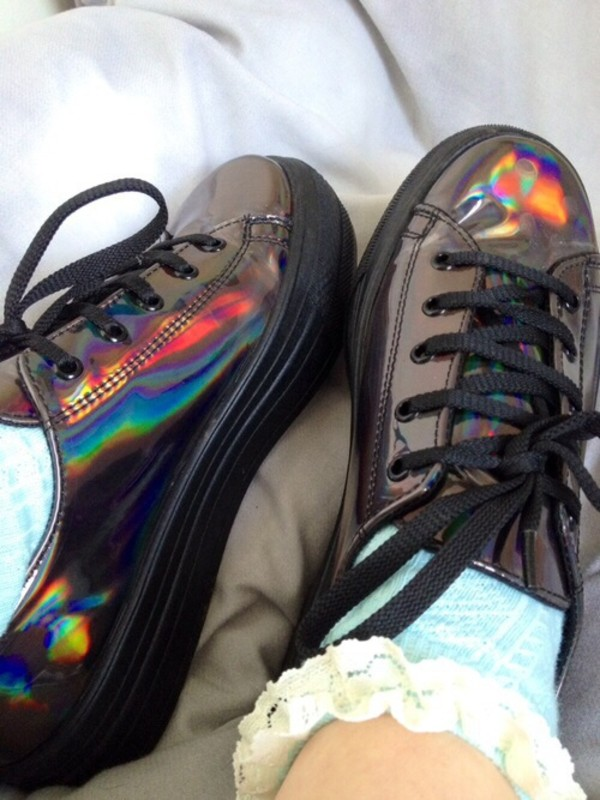 shoes looking for socks too holographic shoes perf