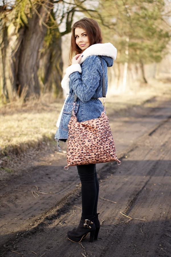 a piece of anna coat bag dress shoes