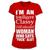 I´m An Intelligent Classy Well Educated Woman Who Says FUCK Alot Girly T-Shirt
