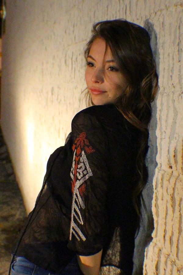 blouse bohemian boho boho chic shirt black blouse aztec sheer blouse black top cute blouse sexy shirt tribal pattern tribal pattern