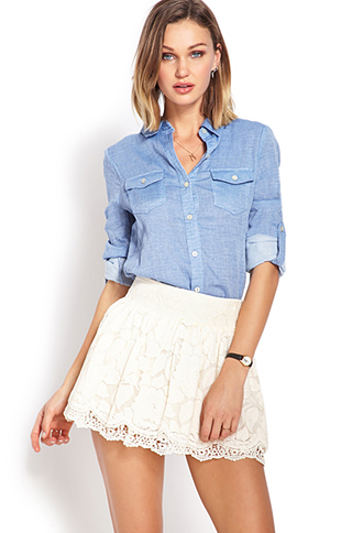 Favorite Lace Skirt | FOREVER21 - 2000107747