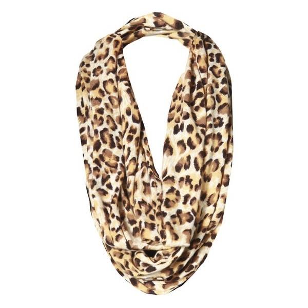 My Style / Alice   Olivia Leopard Print Infinity Scarf ($198... - Polyvore
