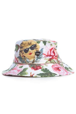 ANGELIC RICH FLORAL HAT / WHITE - JOYRICH Store