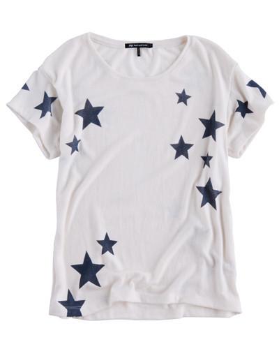 Stella Short Sleeve White/Navy – Hye Park and Lune