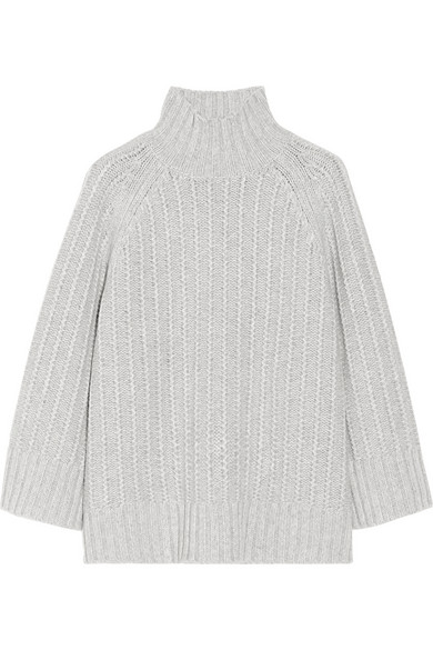 Michael Kors | Chunky-knit cashmere and wool-blend sweater | NET-A-PORTER.COM