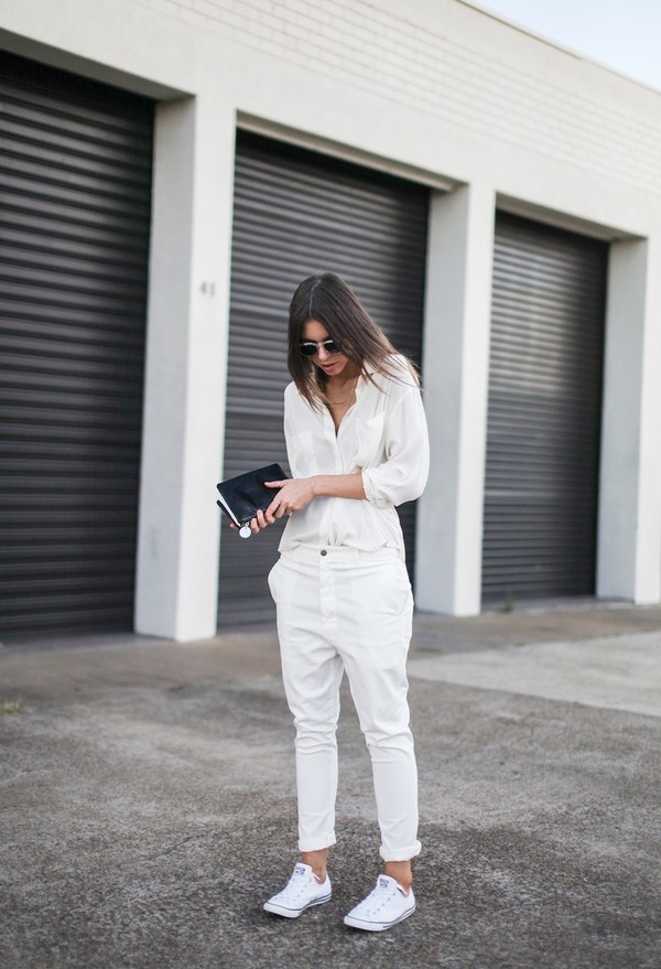 modern legacy pants shirt bag sunglasses