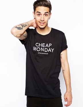 Cheap Monday | Cheap Monday T-shirt with Print at ASOS