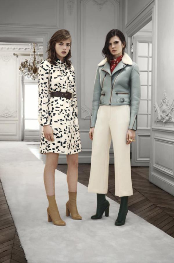 dress chloe lookbook fashion jacket shoes