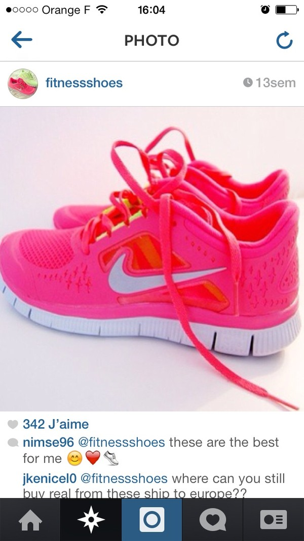 shoes nike fitness