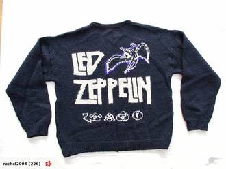 led zeppelin sweater