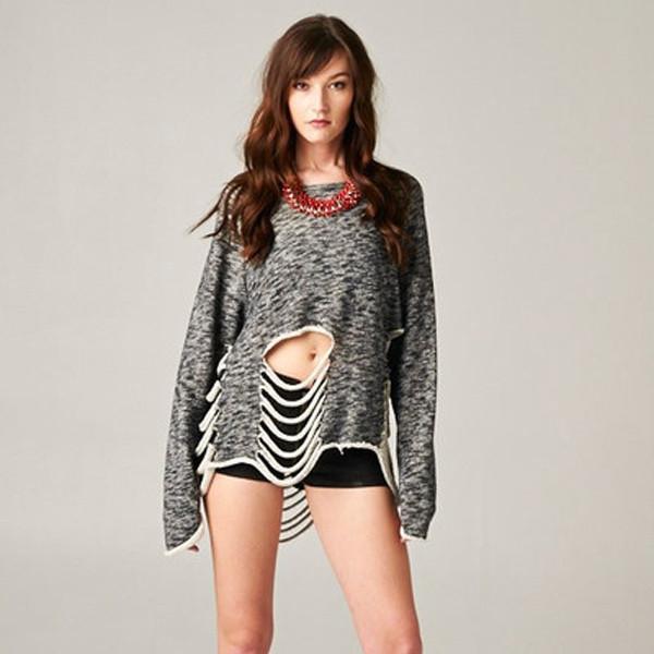 Torn Love Sweater | Vanity Row