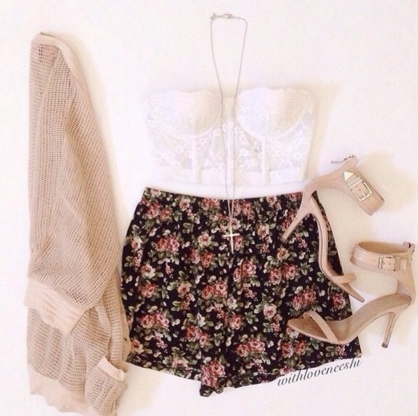 shoes shorts shirt