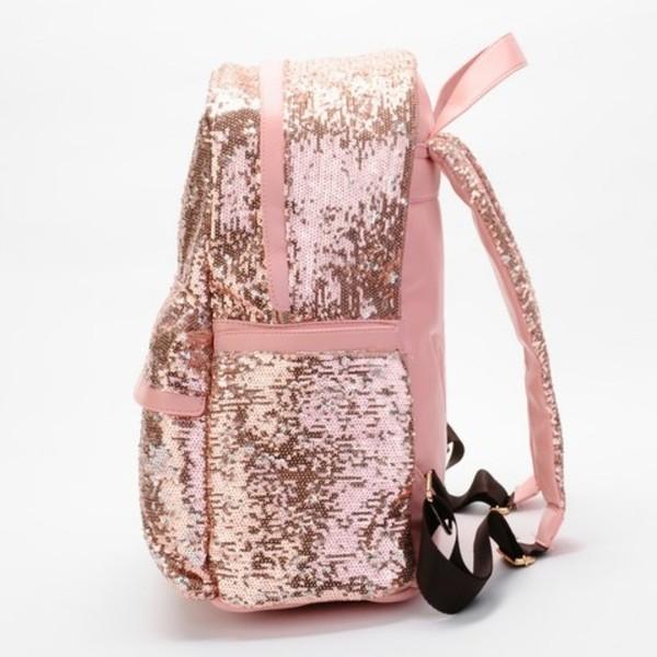 bag backpack shiny