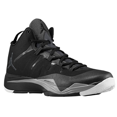 Jordan Super.Fly II - Men's - Basketball - Shoes - Black/Anthracite/Cement Grey/White