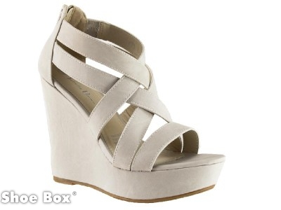 Isabella Brown Sandra3 Sythenic Wedge | Buy Shoes Online | Shoe Box