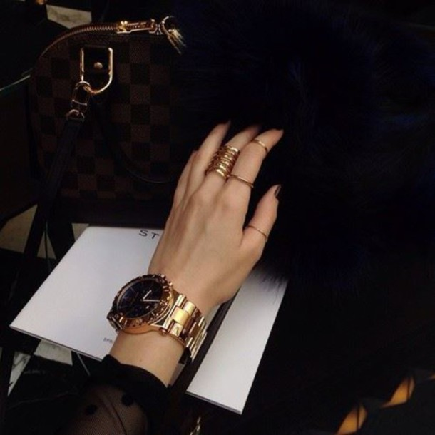jewels gold watch gold watch