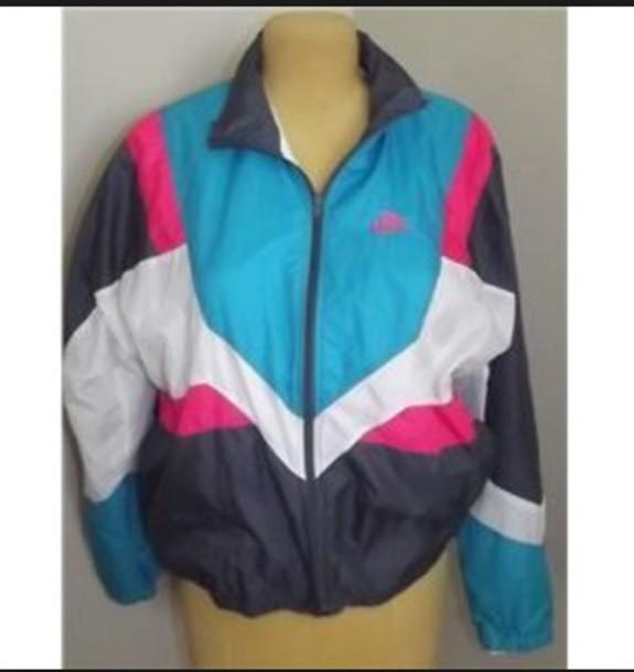 jacket multicolor windbreaker