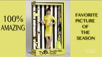 dress antm tyra yellow dress yellow chic edgy modern contemporary classic sophistication