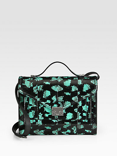 Loeffler Randall - Watersnake Rider Top-Handle Bag - Saks.com