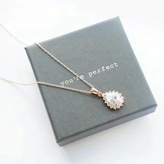 jewels collier pierres pr?cieuses you're perfect drop silver gold jewelry necklace sparkle swarovski diamonds raindrop white gold necklace pendant long