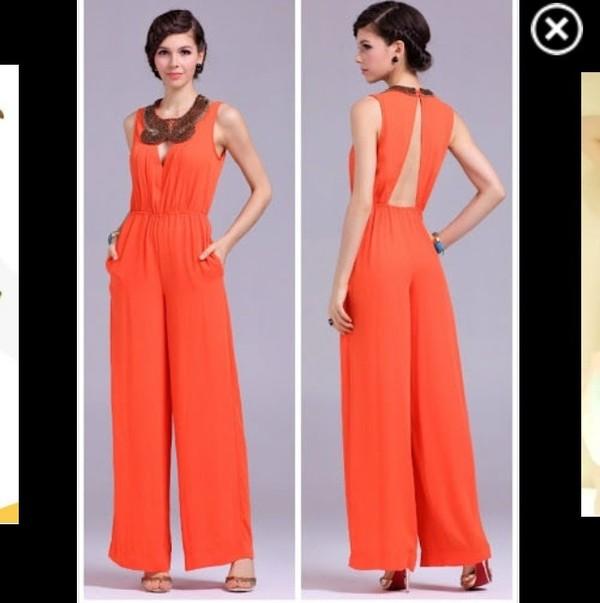 blouse jumpsuit