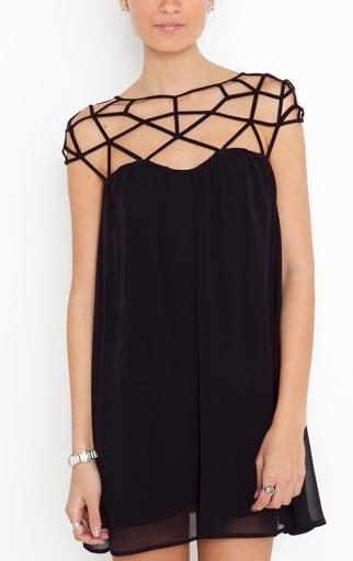 Hollow Out Dress - Juicy Wardrobe