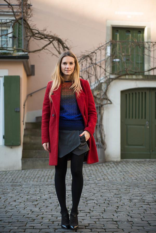 fashion gamble sweater skirt jacket shoes