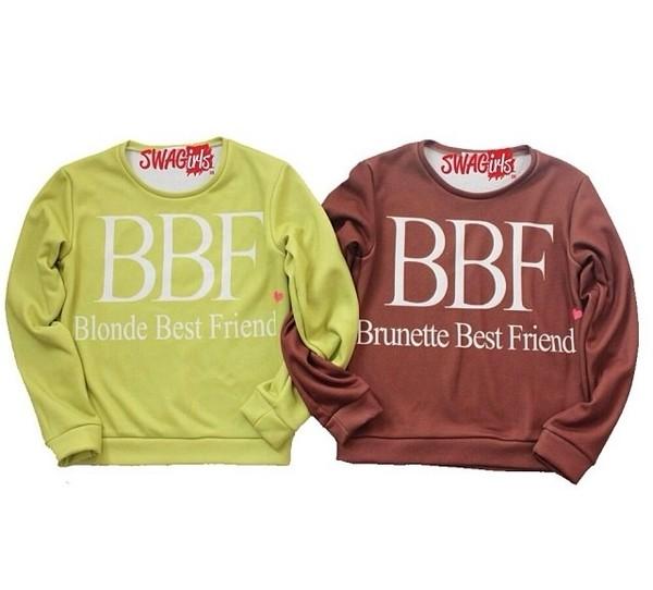 sweater friendship shirt cool sweater