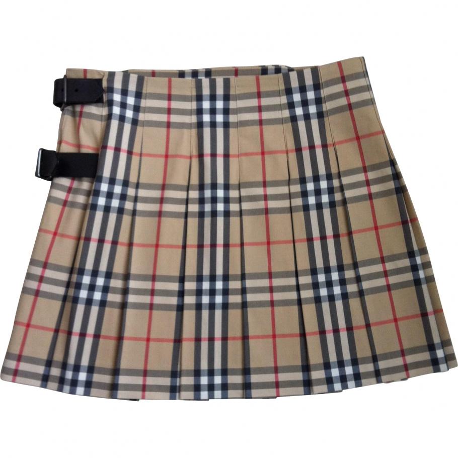Kilt skirt BURBERRY Multicolour size 6 UK in Cotton Spring / Summer - 1069366
