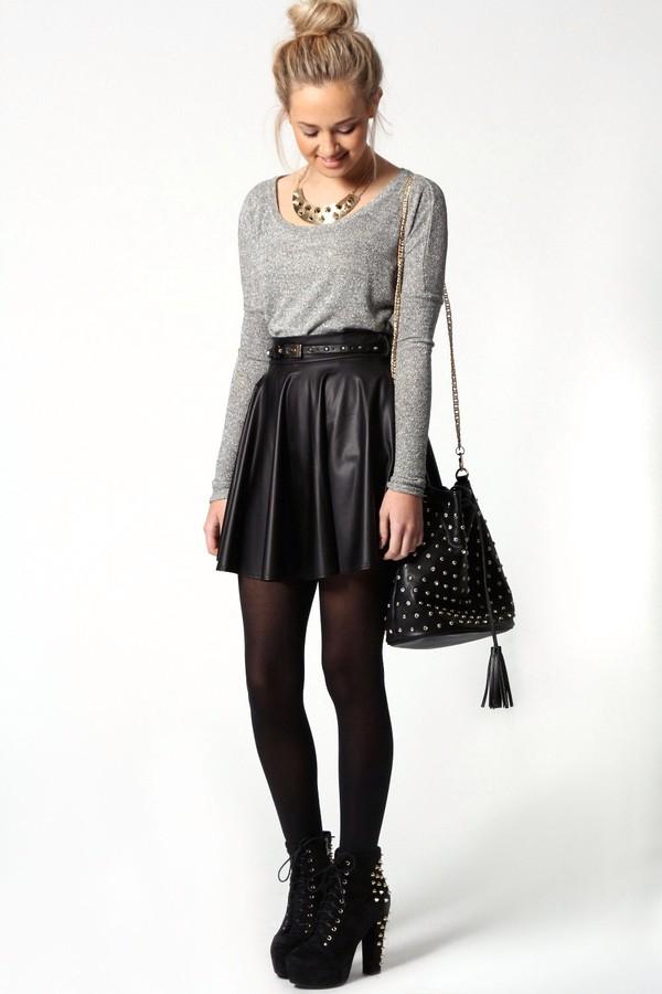 skirt fashion bag shoes