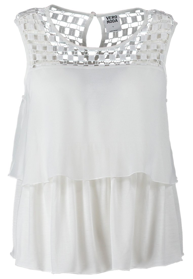 Vero Moda PLATINUM - Top - snow white - Zalando.ch
