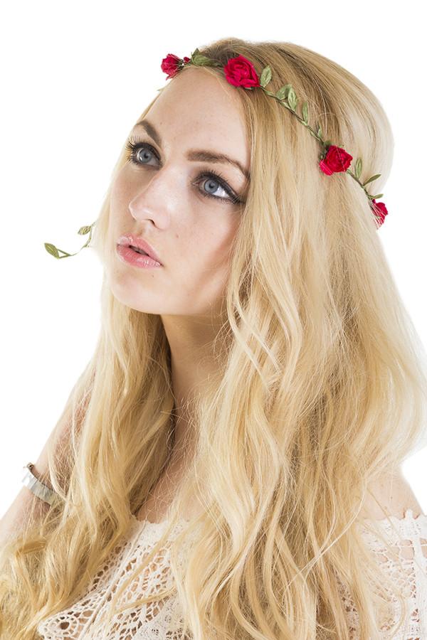 hair accessory xirl summer flower crown festival