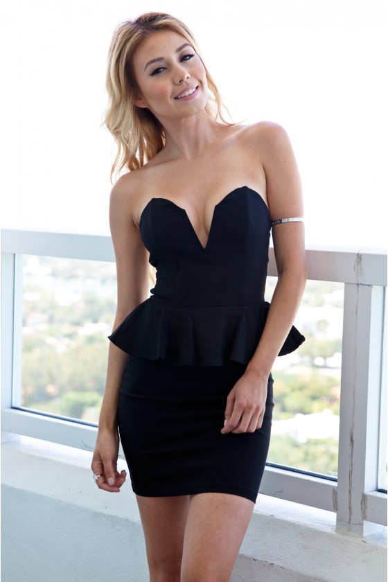 Night Fall Black Dress