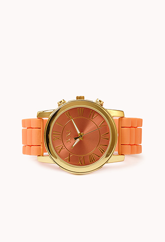 Punchy Chronograph Watch   FOREVER21 - 1061702421