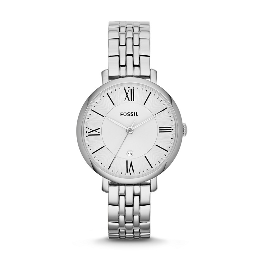 Jacqueline Three-Hand Stainless Steel Watch ES3433 | FOSSIL® UK