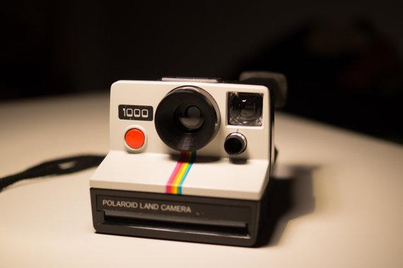 Polaroid 1000  Vintage Instant Camera  Land Camera  by VintageBP